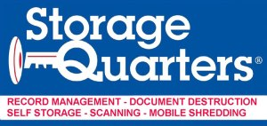 Logo for self storage and records management - Garden City NY 11530